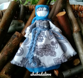 Народная кукла мотанка Успешница в Stranamasterov.by Беларусь.