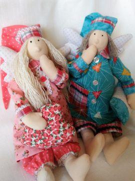 Кукла тильда Сонный ангел в Stranamasterov.by Беларусь.