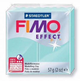 Полимерная глина FIMO EFFECT пастельный мята 8020-505 57гр Россия.