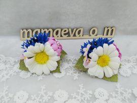 Резинки для волос Полевые цветы в Stranamasterov.by Беларусь.