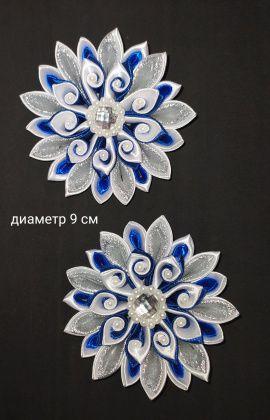 Бант Синий цветок в Stranamasterov.by Беларусь.