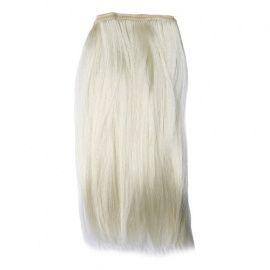 Трессы прямые для кукол, 50*30см 2шт в упаковке (блонд) AS16-08 Беларусь.
