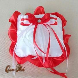 Подушечка для колец Ассоль - подарок ручной работы на свадьбу Беларусь.