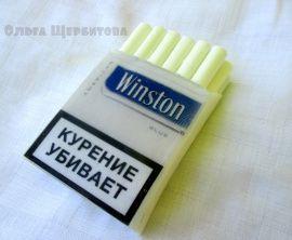 Мыло ручной работы Пачка сигарет в Stranamasterov.by Беларусь.