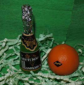 Подарочный набор мыла Шампанское и мандаринка в Stranamasterov.by Беларусь.