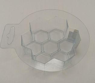Пластиковая форма Пчелиные соты Беларусь.