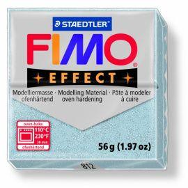 Полимерная глина FIMO EFFECT с блеском Серебряный 8020-812 57гр Россия.