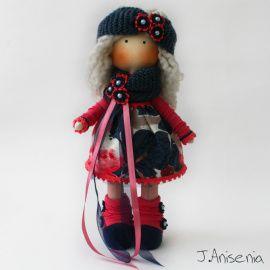 Авторская кукла Лаура в Stranamasterov.by Беларусь.