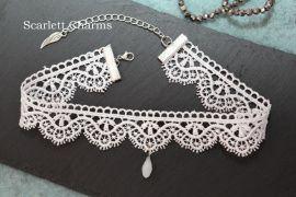 Чокер White lace в Stranamasterov.by Беларусь.