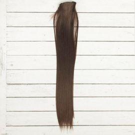"""Трессы для кукол """"Прямые"""" длина волос 40см, ширина 50см, №4А, 2294388 Россия."""
