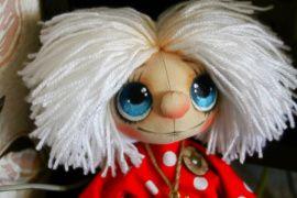 Интерьерная кукла-оберег Домовёнок Кузенька в Stranamasterov.by Беларусь.