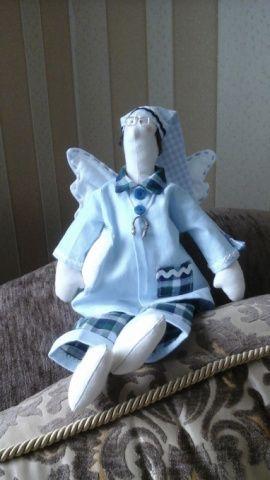 Кукла-тильда Сонный ангел Юхани в Stranamasterov.by Беларусь.
