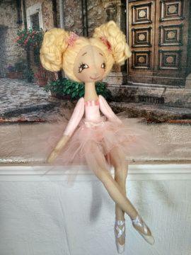 Текстильная кукла Юная балерина в Stranamasterov.by Беларусь.