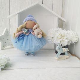 Интерьерная кукла Голубое облачко в Stranamasterov.by Беларусь.