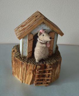 Сувенир Домик для мышки в Stranamasterov.by Беларусь.