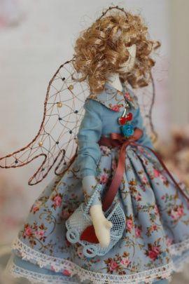 Интерьерная кукла Ангел в Stranamasterov.by Беларусь.