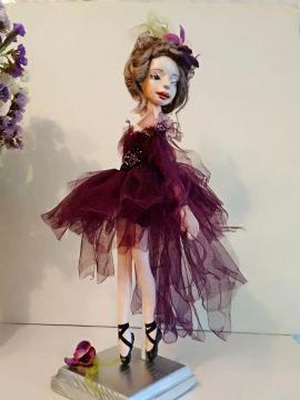Авторская кукла Балерина в Stranamasterov.by Беларусь.