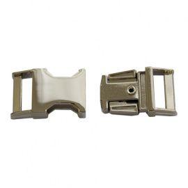 Фастекс металлический 15мм никель, k-119-15 Россия.