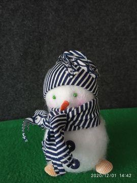 Новогодняя игрушка Снеговик в Stranamasterov.by Беларусь.