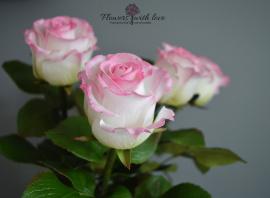Цветы ручной работы Букет роз в Stranamasterov.by Беларусь.