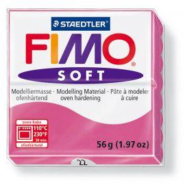 Запекаемая полимерная глина FIMO SOFT Малиновый 8020-22 (57гр) Беларусь.