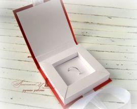 Коробочка для флэшки Wedding Day - подарок ручной работы на свадьбу Беларусь.
