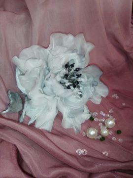 Брошь-цветок Изабелла в Stranamasterov.by Беларусь.