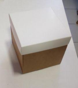 Коробка 10*10*10см с крышкой Беларусь.