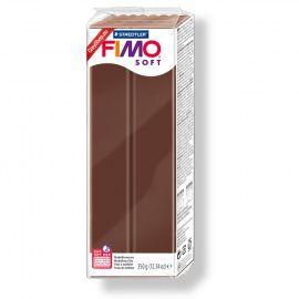 Запекаемая полимерная глина FIMO SOFT Шоколад 8022-75 350гр Россия.