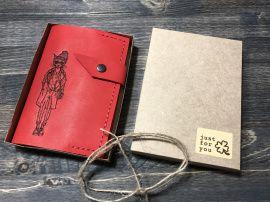 Обложка паспорт Красная 15*10 в Stranamasterov.by Беларусь.