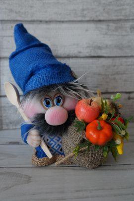 Интерьерная кукла Домовёнок в Stranamasterov.by Беларусь.