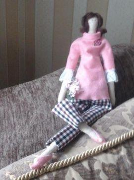 Интерьерная кукла Тильда в Stranamasterov.by Беларусь.