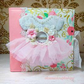 Альбом для девочки Цветочный в Stranamasterov.by Беларусь.