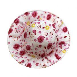Панама 7см, упаковка 4шт, розово-белый Россия.