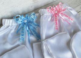 Ползунки для сбора денег Мальчик-девочка - подарок ручной работы на свадьбу Беларусь.