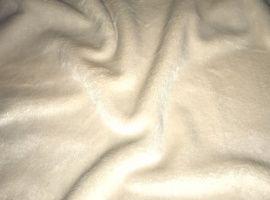 Мех, коротковорсовый 3мм, 50*50см, 100% полиэстер, цв. бежевый 02, М-1403 Россия.