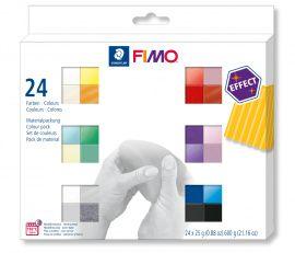 Набор полимерной глины EFFECT 24*25гр 8013 С24-1, FIMO Россия.