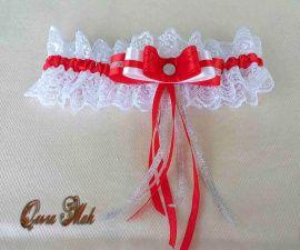 Подвязка невесты Ассоль - подарок ручной работы на свадьбу Беларусь.