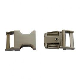 Фастекс металлический 15мм матовый никель, k-119-15 Россия.