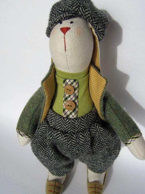 Интерьерная игрушка Заяц Тильда в Stranamasterov.by
