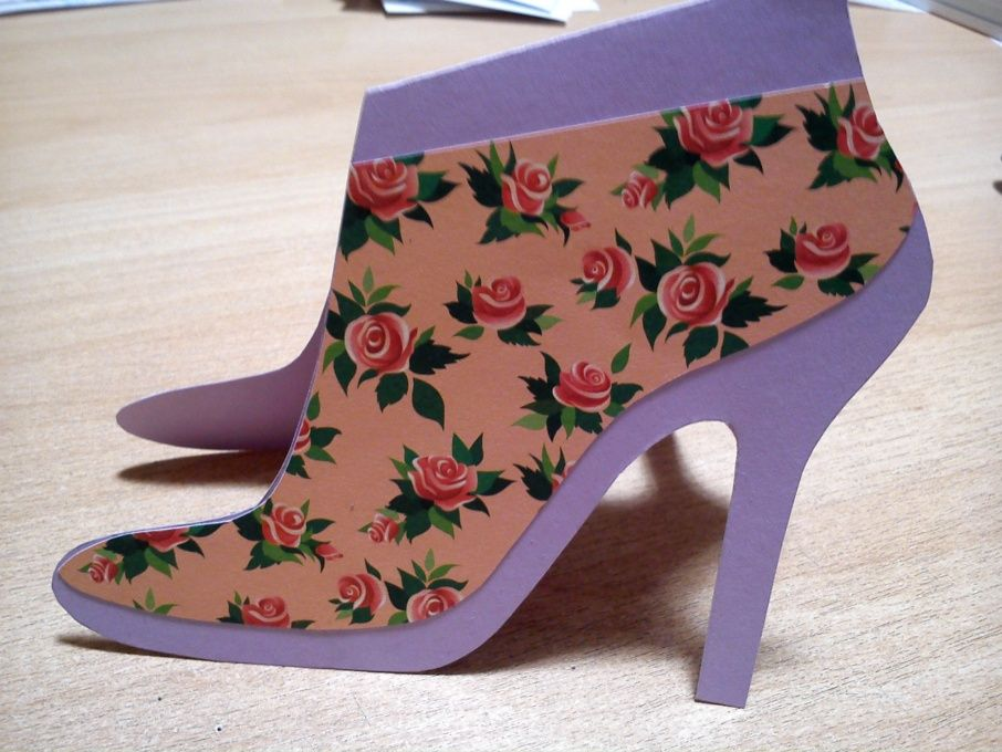 Открытка туфельки, красивые открытки