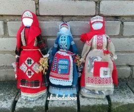 Народная кукла мотанка Берегиня (большая) в Stranamasterov.by Беларусь.