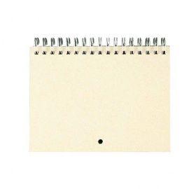 Заготовка для календаря на серебряной пружине, А6, 7 листов, КП001-С Россия.