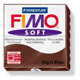 Запекаемая полимерная глина FIMO SOFT Шоколад 8020-75 (57гр) Беларусь.