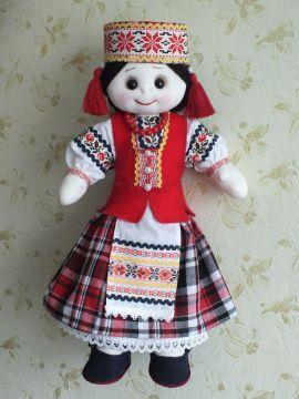 Текстильная кукла Купалинка в Stranamasterov.by Беларусь.