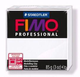 Запекаемая полимерная глина FIMO PROFESSIONAL Белый 8004-0 (85гр) Беларусь.