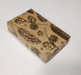 Коробка с рисунком 10*6*2.5см Россия.