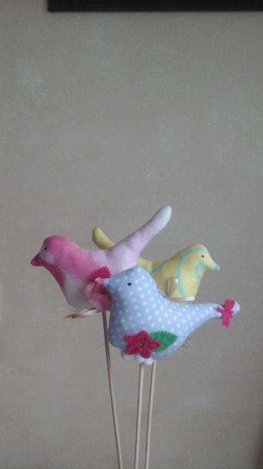 Интерьерные птички Весенние птички в Stranamasterov.by
