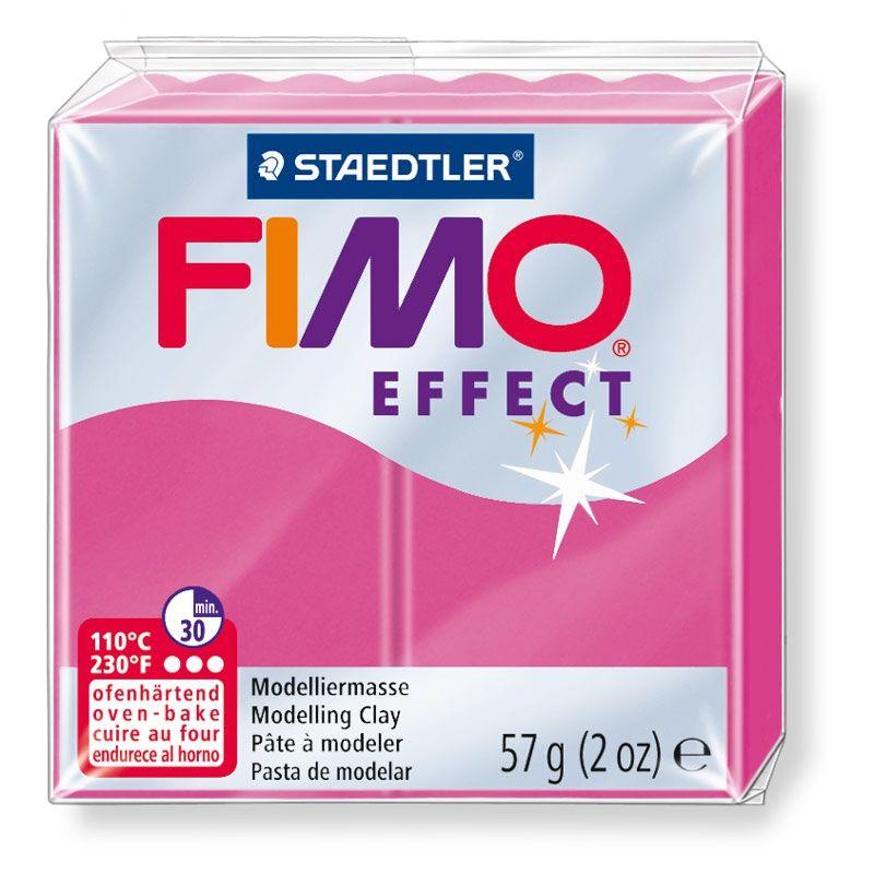 Полимерная глина FIMO EFFECT рубиновый кварц 8020-286 57гр