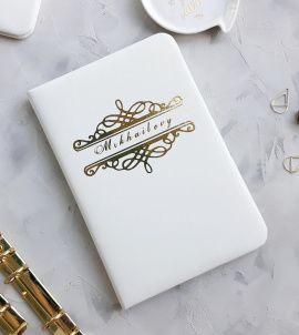 Папка для свидетельства О браке - подарок ручной работы на свадьбу Россия.
